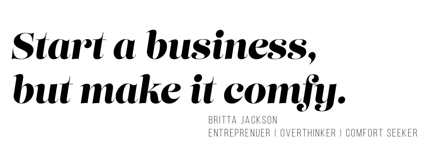 Britta Jackson: Photographer, Baker, Small Business Maker
